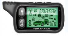 Сигнализация с автозапуском Tomahawk TZ-9010 брелок с ЖК дисплеем