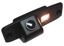 Камера заднего вида в штатное место подсветки номера