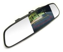 Зеркало со встроенным дисплеем